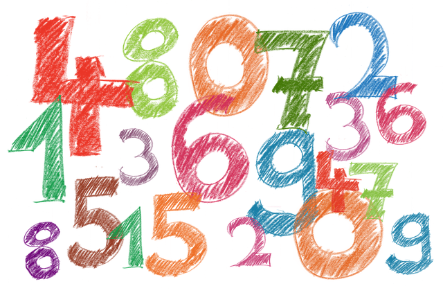 image with numbers