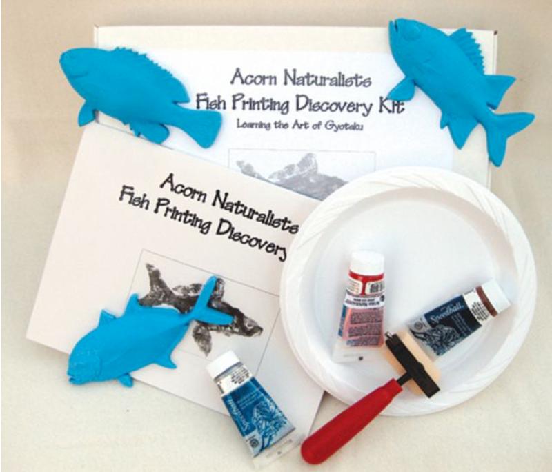 Saltwater Fish Printing Kit