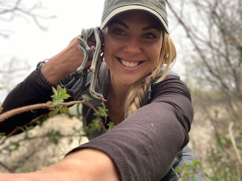 Mallory Lindsay, wildlife educator