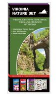 Virginia Nature Set: Field Guides to Wildlife, Birds, Trees & Wildflowers (Pocket Naturalist® Guide Set)