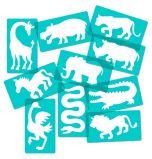 Safari Animal Stencils