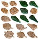 Leaf Printing Replica Collection (Discounted Set of All 18 Leaf Replicas)