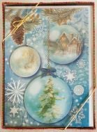 Pine Ornaments Holiday Boxed Notes