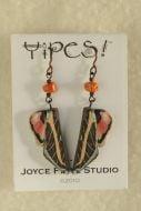 Yipes! Sphinx Moth Wing Earrings