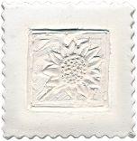 Paper-Cast Mold: Sunflower