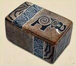 Kenyan Soapstone Trinket Box