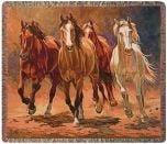 Wild Horses Throw