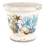 Seashore Ceramic Planter