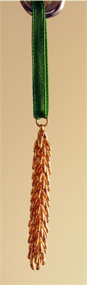 Gold Pine Tip Ornament