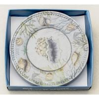 Seashell Appetizer Plates Boxed Set Of Six