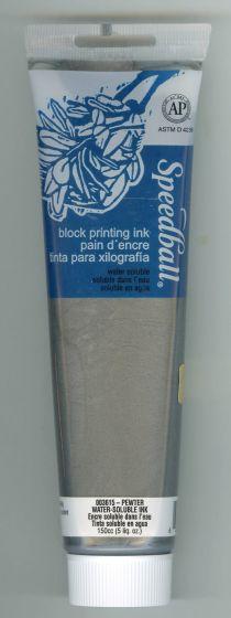 Pewter Block Printing Ink (5 oz)