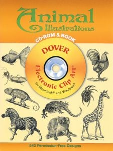 Animal Illustrations Electronic Clip Art (CD-Rom and Book)