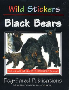 Black Bears (Wild Stickers Series)