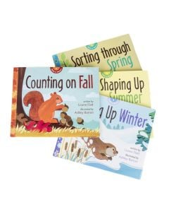 Seasonal Math in Nature Series Collection (Discounted Set of 4 Titles)