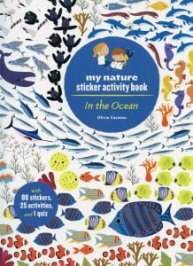 In the Ocean (My Nature Sticker Activity Book Series)