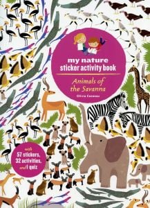Animals of the Savanna (My Nature Sticker Activity Book Series)
