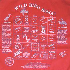 Wild Bird Bingo Scarf (Fundana® Bandana)