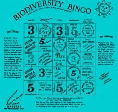 Biodiversity Bingo Scarf (Fundana® Bandana)