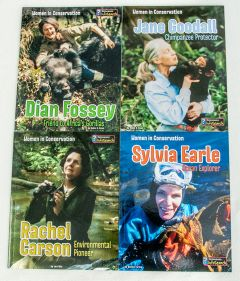 Women in Conservation Series Collection (Discounted Set of 4 Titles)