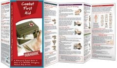 Combat First Aid: A Waterproof Pocket Guide Pocket Guide to What To Do Before Emergency Medical Help Arrives (Duraguide®)