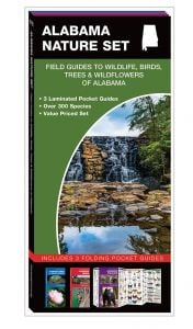 Alabama Nature Set: Field Guides to Wildlife, Birds, Trees & Wildflowers (Pocket Naturalist® Guide Set)