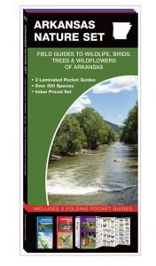 Arkansas Nature Set: Field Guides to Wildlife, Birds, Trees & Wildflowers (Pocket Naturalist® Guide Set)