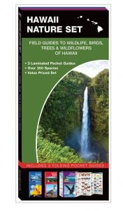 Hawaii Nature Set: Field Guides to Wildlife, Birds, Trees & Wildflowers (Pocket Naturalist® Guide Set)