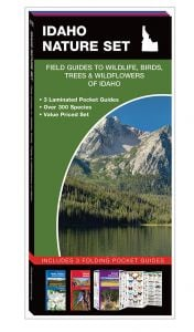 Idaho Nature Set: Field Guides to Wildlife, Birds, Trees & Wildflowers (Pocket Naturalist® Guide Set)