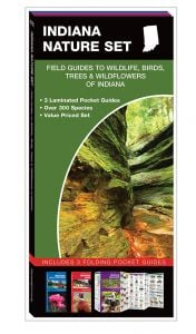Indiana Nature Set: Field Guides to Wildlife, Birds, Trees & Wildflowers (Pocket Naturalist® Guide Set)