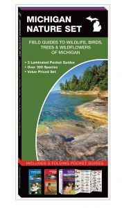 Michigan Nature Set: Field Guides to Wildlife, Birds, Trees & Wildflowers (Pocket Naturalist® Guide Set)