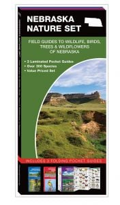 Nebraska Nature Set: Field Guides to Wildlife, Birds, Trees & Wildflowers (Pocket Naturalist® Guide Set)