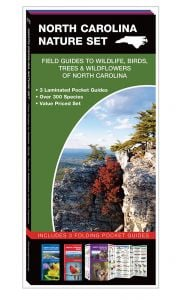 North Carolina Nature Set: Field Guides to Wildlife, Birds, Trees & Wildflowers (Pocket Naturalist® Guide Set)