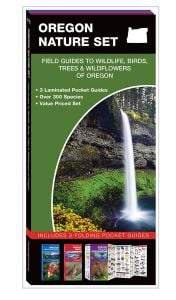 Oregon Nature Set: Field Guides to Wildlife, Birds, Trees & Wildflowers (Pocket Naturalist® Guide Set)