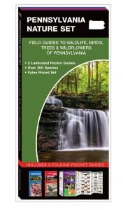 Pennsylvania Nature Set: Field Guides to Wildlife, Birds, Trees & Wildflowers (Pocket Naturalist® Guide Set)
