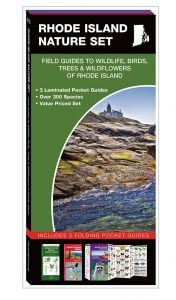 Rhode Island Nature Set: Field Guides to Wildlife, Birds, Trees & Wildflowers (Pocket Naturalist® Guide Set)