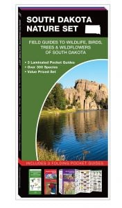 South Dakota Nature Set: Field Guides to Wildlife, Birds, Trees & Wildflowers (Pocket Naturalist® Guide Set)