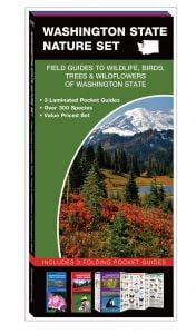 Washington Nature Set: Field Guides to Wildlife, Birds, Trees & Wildflowers (Pocket Naturalist® Guide Set)