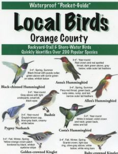 Local Birds of Orange County (Laminated Fold-Out Guide)