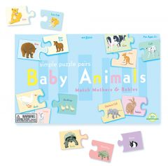 Baby Animals Puzzle Pairs