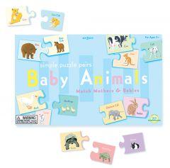 Puzzle Pairs: Baby Animals