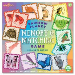 Rainbow Planet Memory and Matching Game