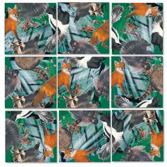 Forest Animals Scramble Squares®