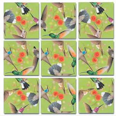 Hummingbirds Scramble Squares®