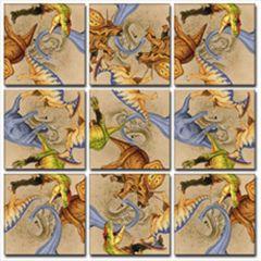 Dinosaurs Scramble Squares®