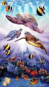 Turtle Play (500 Piece Puzzle)