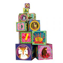 Life on Earth Tot Tower (Stacking Blocks)