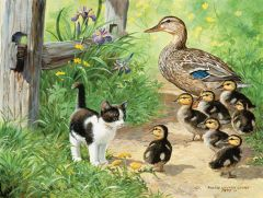 Duck Inspector (200 Piece Puzzle)