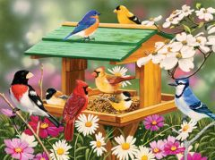 Spring Feast (1000 Piece Puzzle)