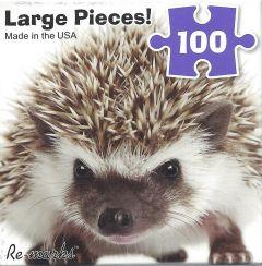Hedgehog (100 Piece Puzzle)