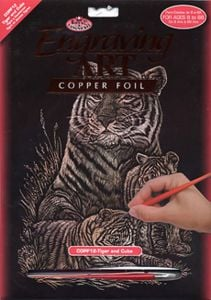 Tiger and Cubs Engraving Kit